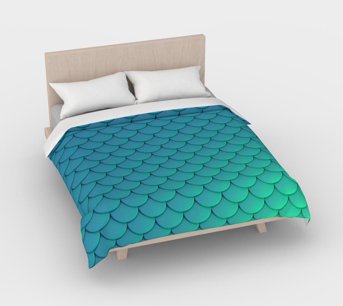 Mermaid Scales Aqua preview #3