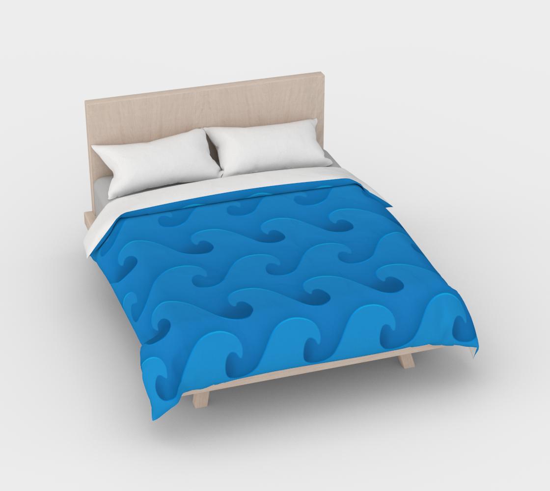 Aperçu de Sea Waves Blue #2
