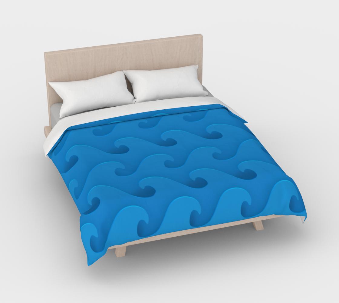 Aperçu de Sea Waves Blue #3