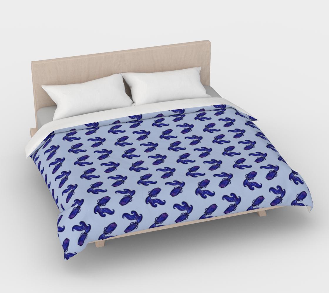 Aperçu de Astrological sign Aquarius constellation pattern Duvet Cover #4