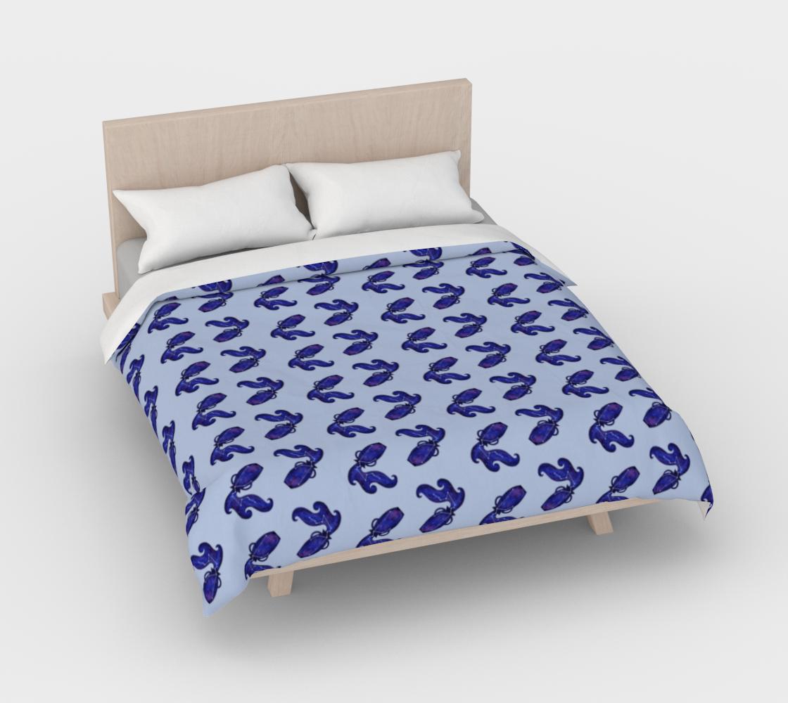 Aperçu de Astrological sign Aquarius constellation pattern Duvet Cover #3