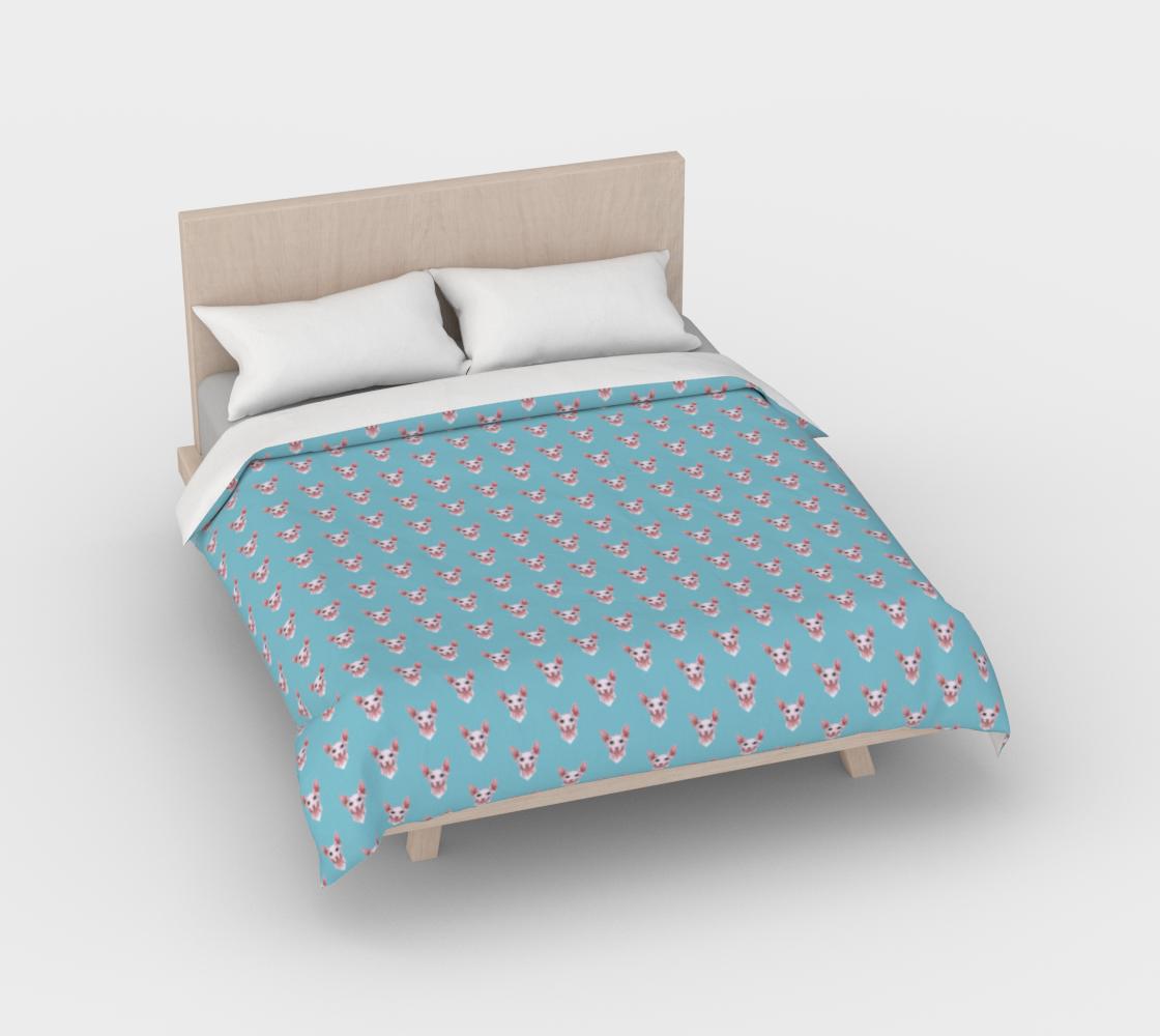 Aperçu de Sphynx cats pattern Duvet Cover #2