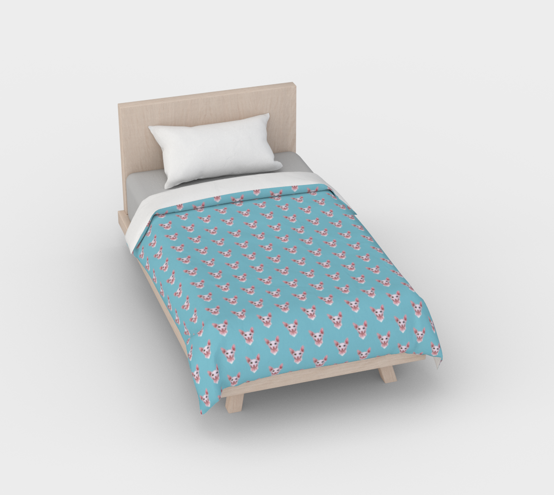 Sphynx cats pattern Duvet Cover preview