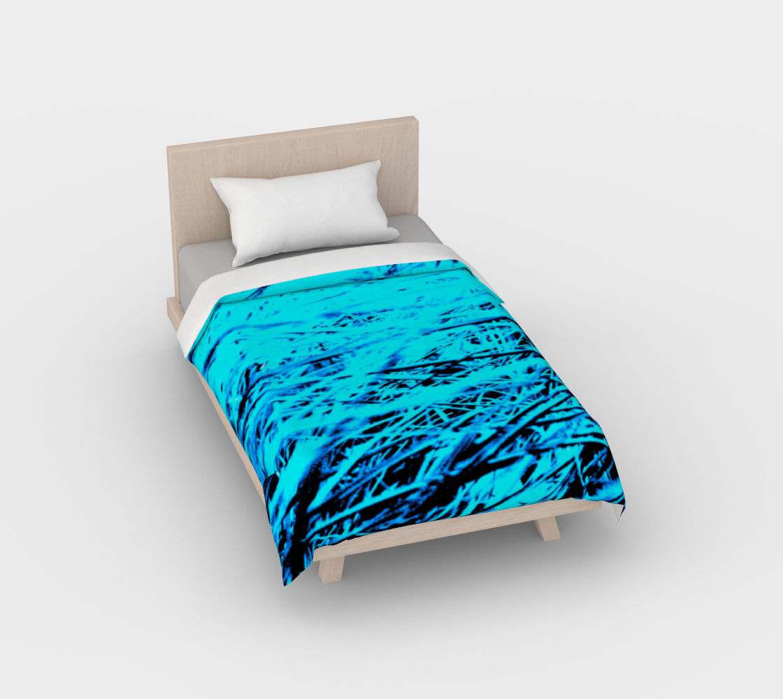 BLUE GRASS  Twin Duvet Cover preview