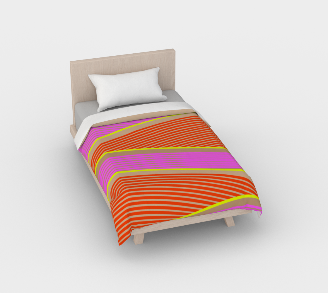 Happy Times - Flower Hills Duvet Cover preview