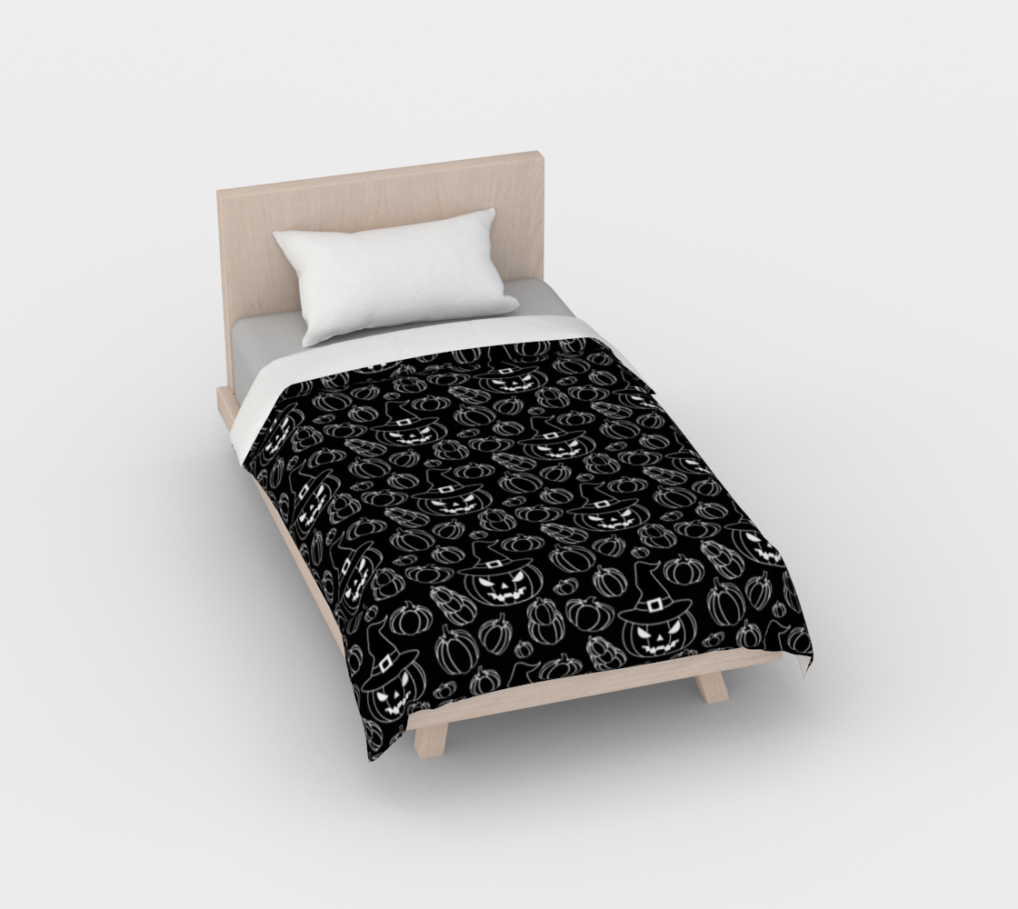 Pumpkin Queen Duvet Cover preview