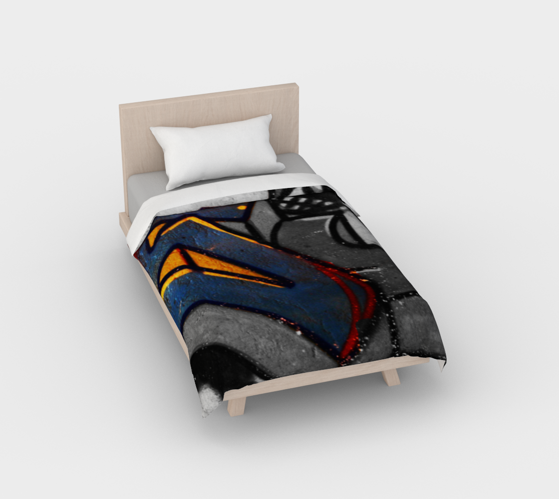 Graffiti 1 Duvet Cover preview