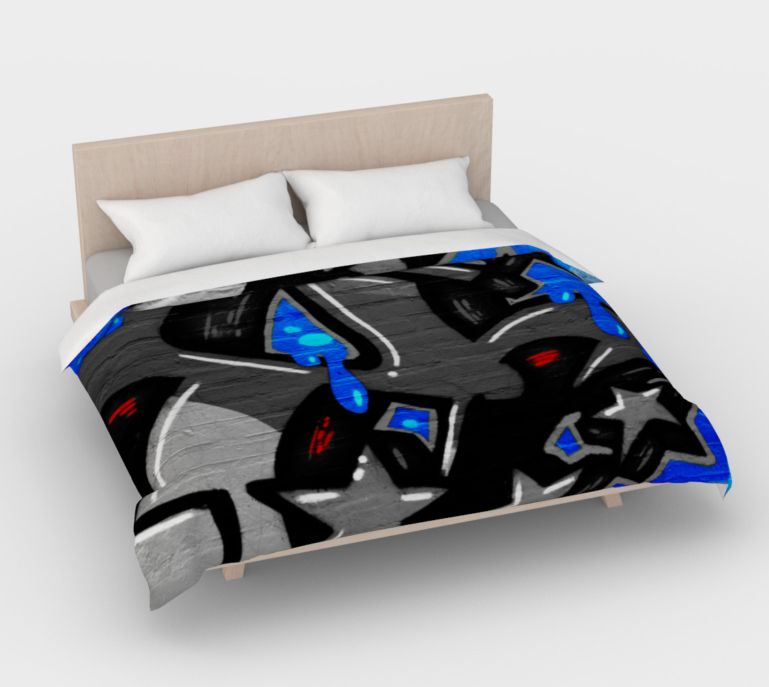Graffiti 3 Duvet Cover preview #4