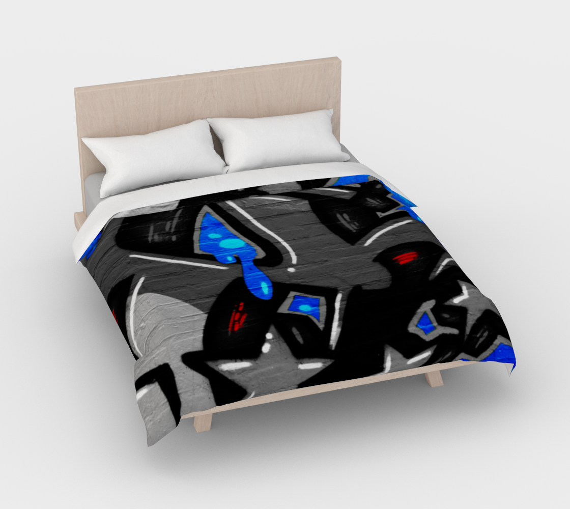 Graffiti 3 Duvet Cover preview #3