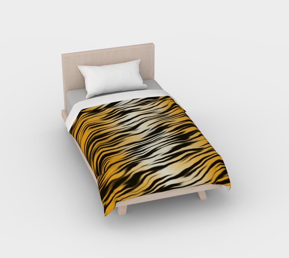Aperçu de Tiger Stripes Duvet Cover