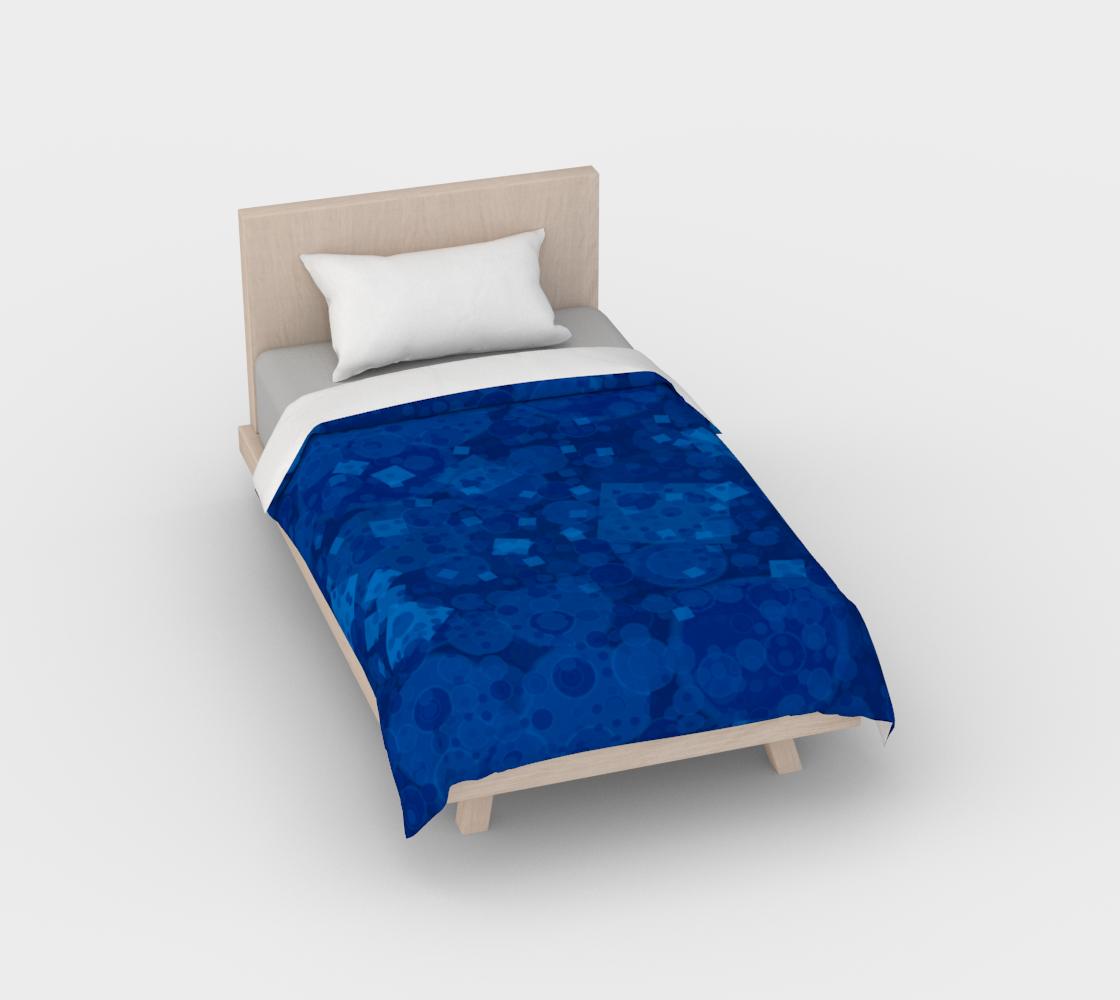 Aperçu de Blue Duvet Cover