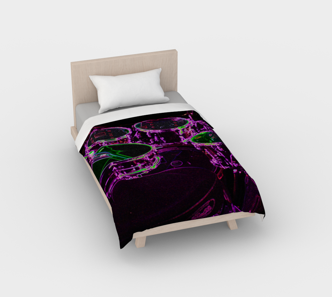 Drums Duvet Cover preview