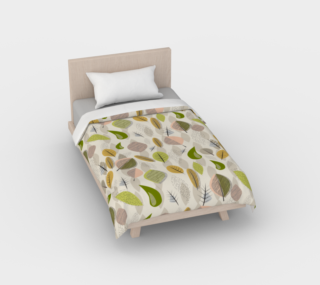 Mid Century Modern Falling Leaves preview