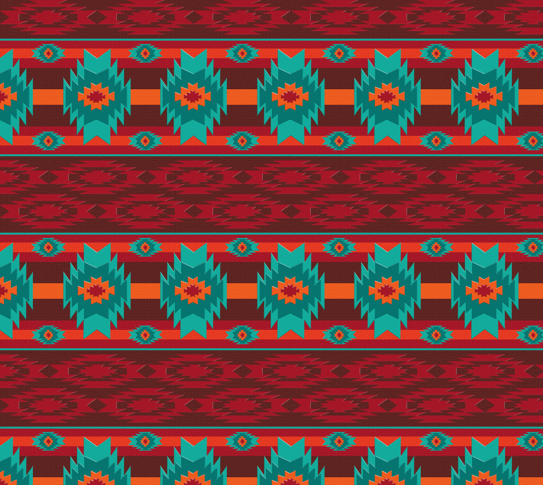 Southwestern ethnic geometric preview