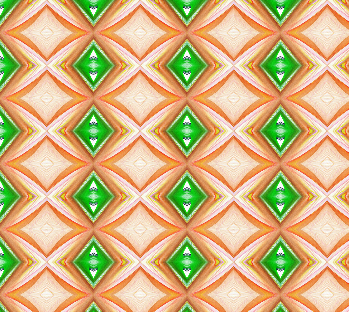 Ethnic Geometric Zigzag Pattern preview