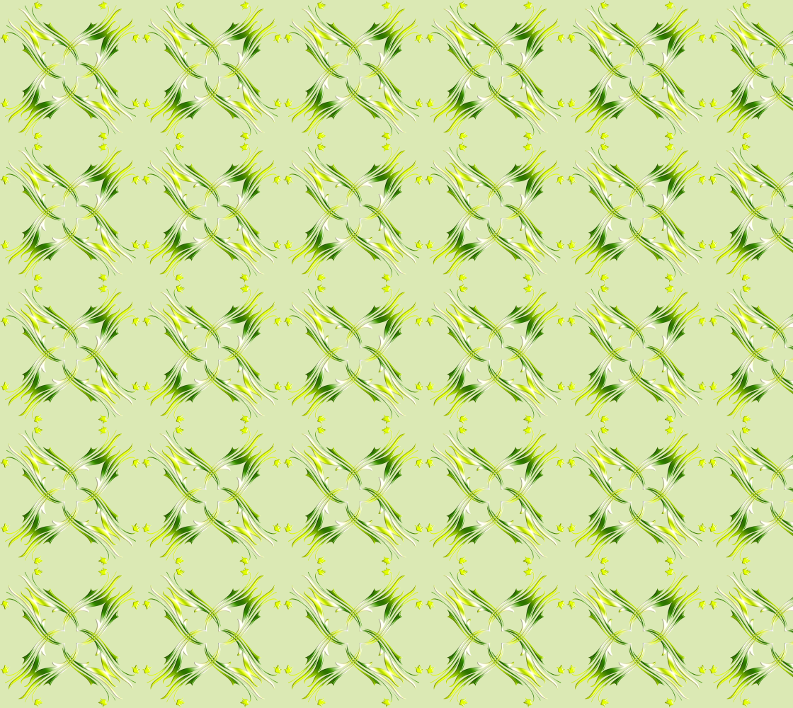 Ethnic Lime Green pattern preview