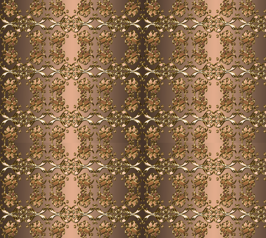 Baroque Golden Pattern  preview
