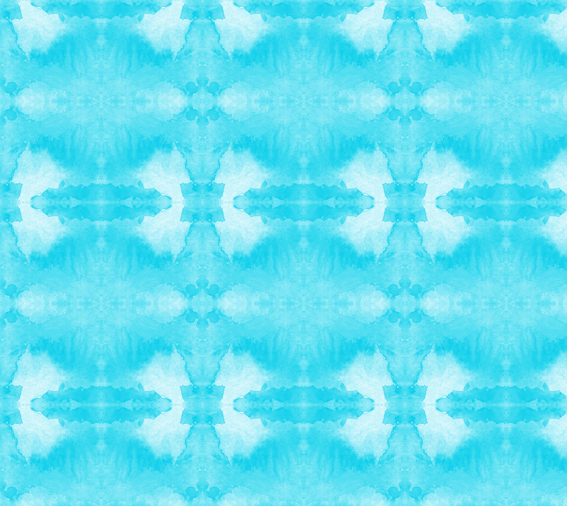 watercolor turquoise pattern thumbnail #1