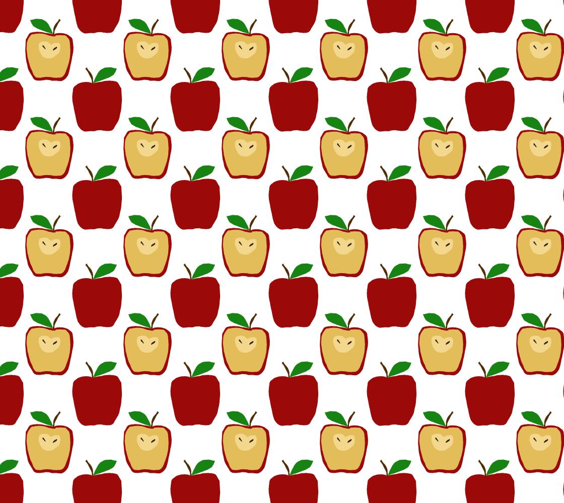 Aperçu de Apple Polkadots Fabric