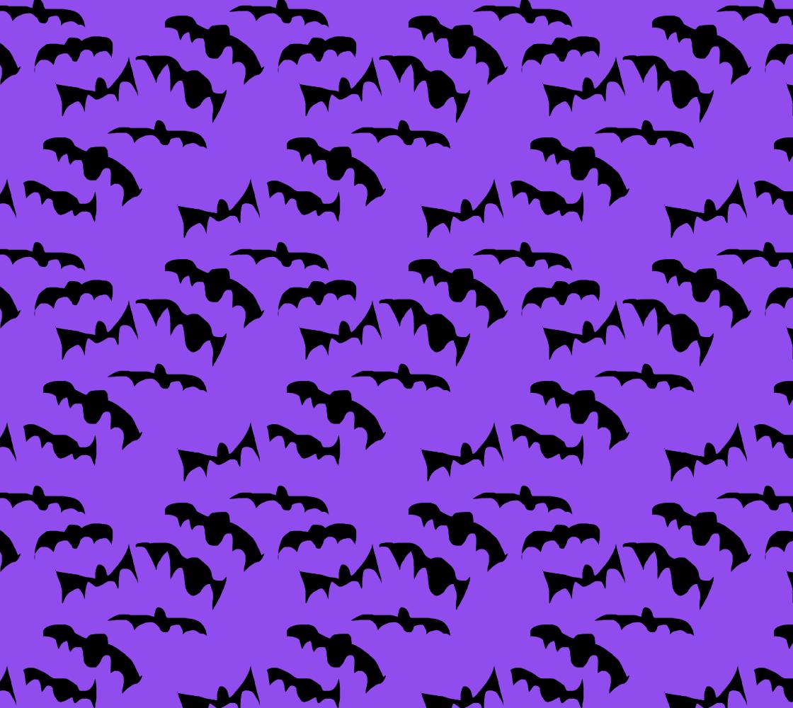 Aperçu de Bats Pattern Fabric