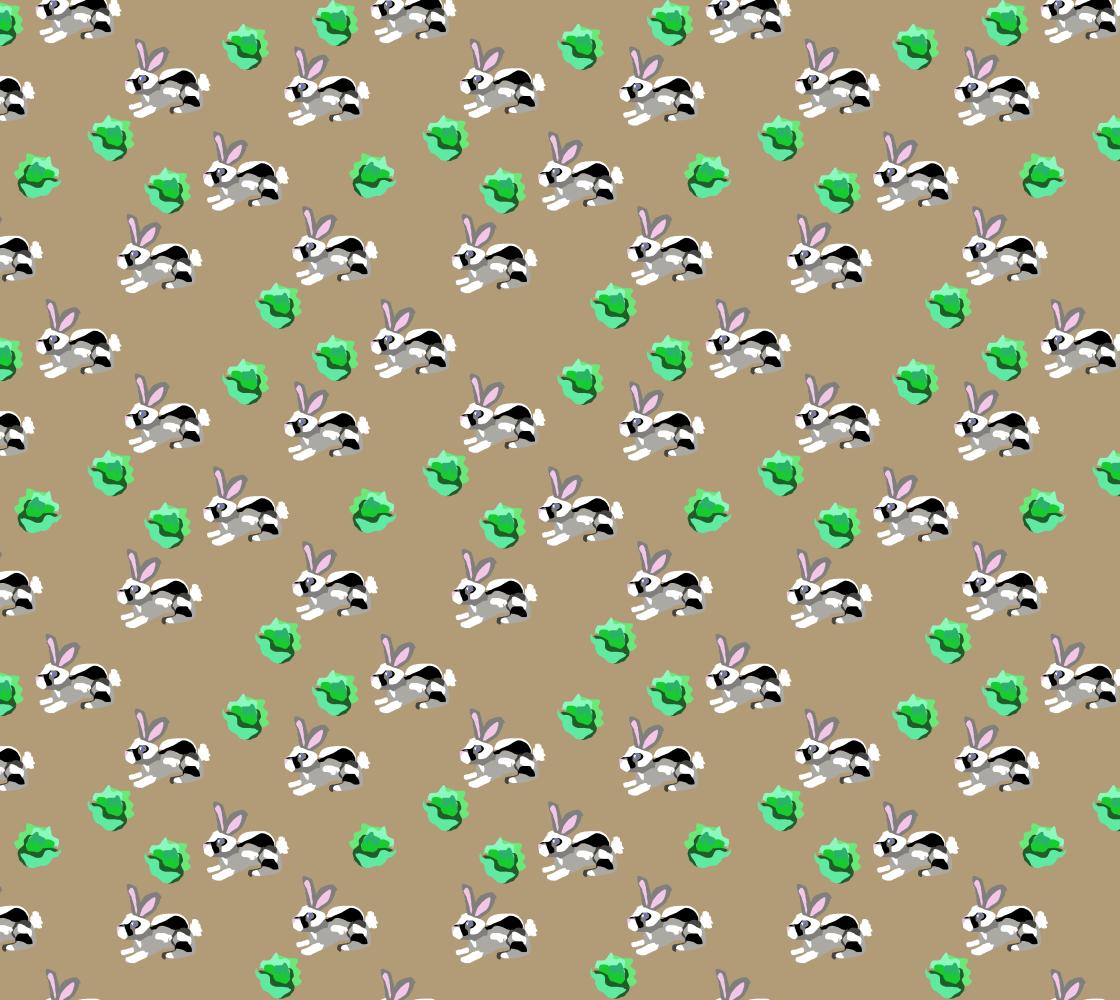Aperçu de Bunnies Fabric