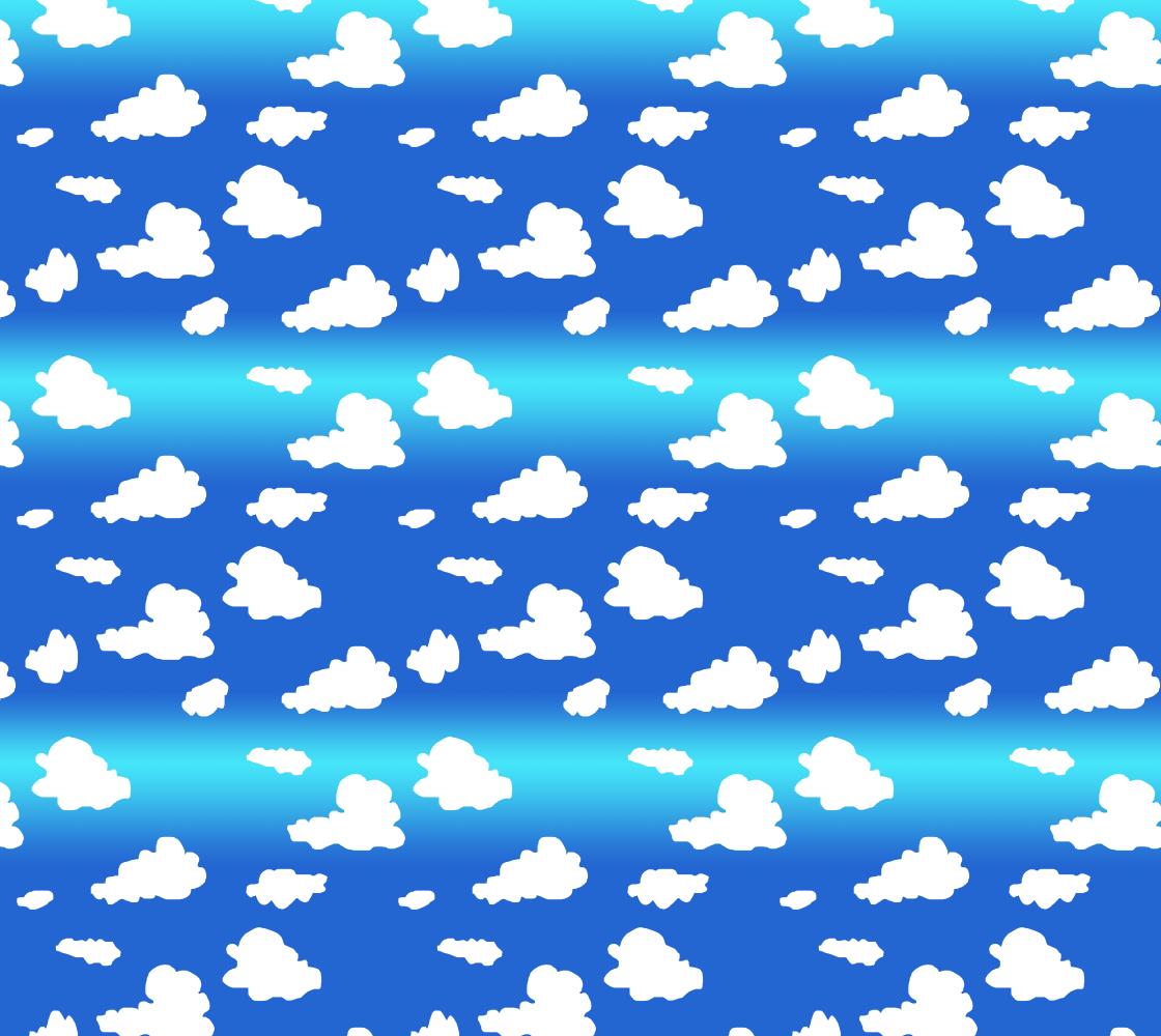 Aperçu de Clouds Fabric