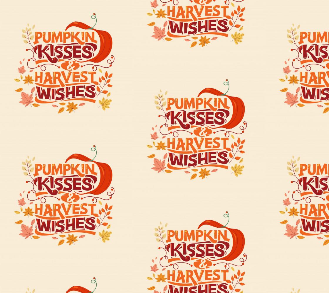 Aperçu de Pumpkin Kisses and Harvest Wishes