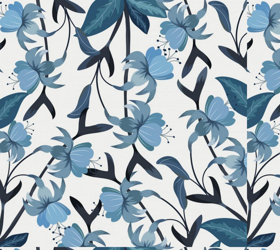 Aperçu de Beautiful Blue Floral