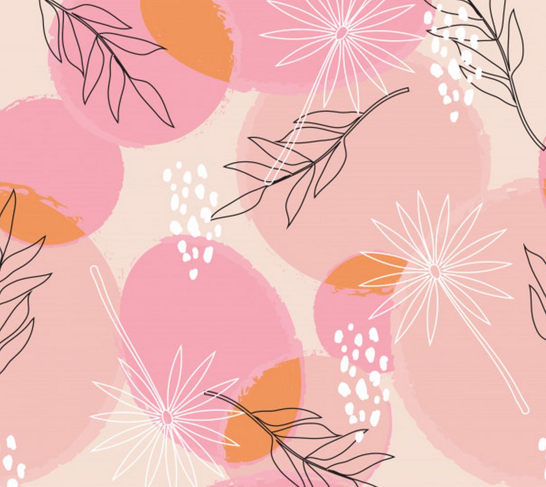 Aperçu de Pink Abstract Floral