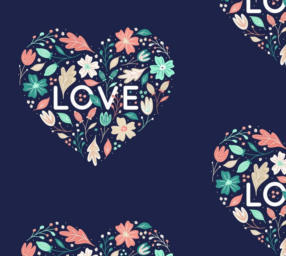 Aperçu de Love Floral Heart