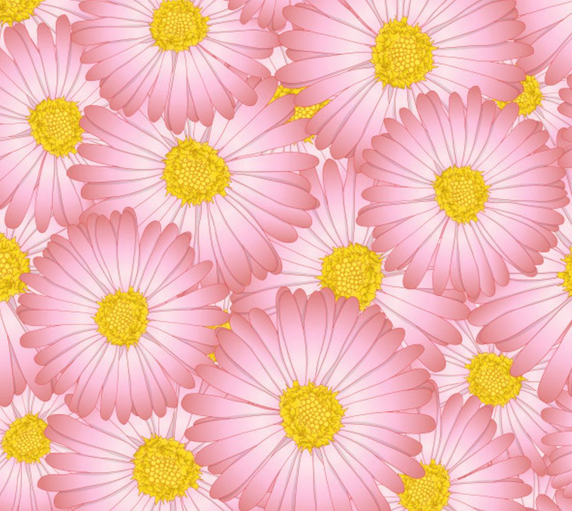 Aperçu de Pretty Pastel Pink Daisies