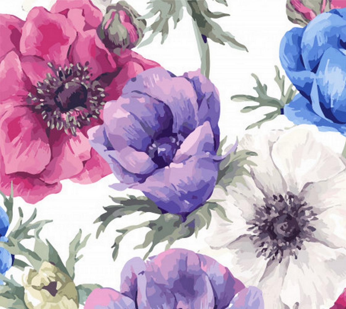 Aperçu de Pink, Purple, Blue and White Floral
