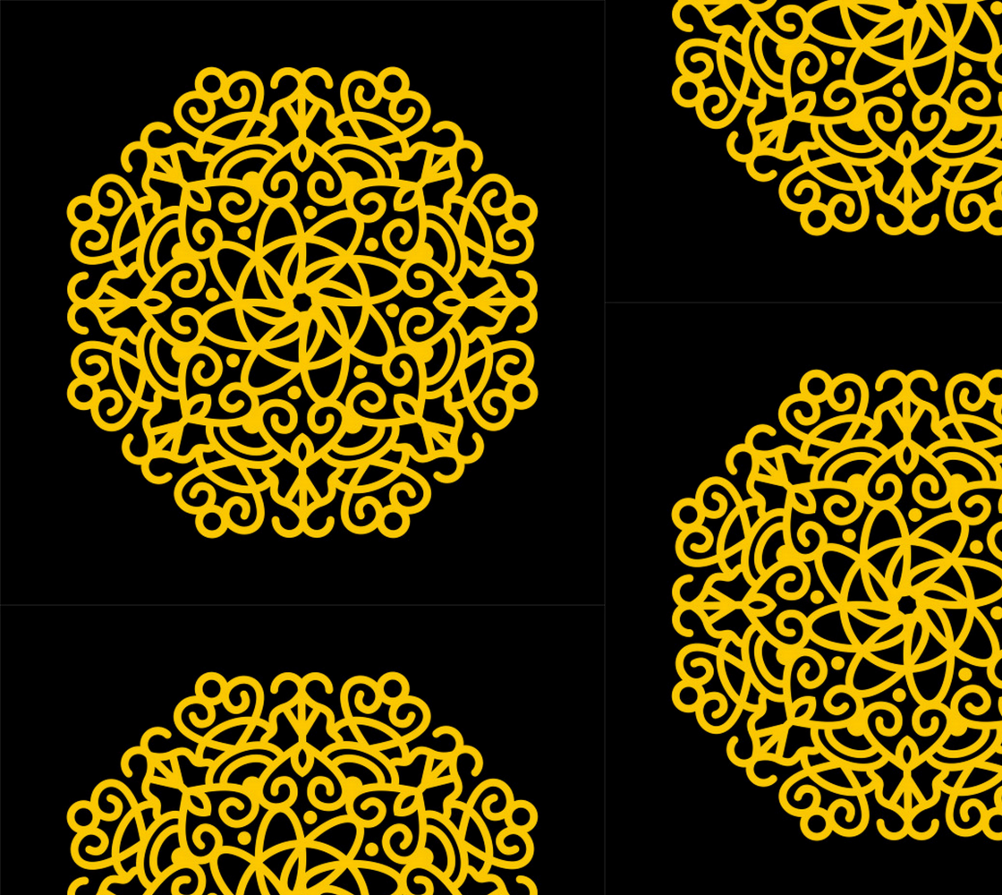 Aperçu de Elegant Decorative Mandala pattern