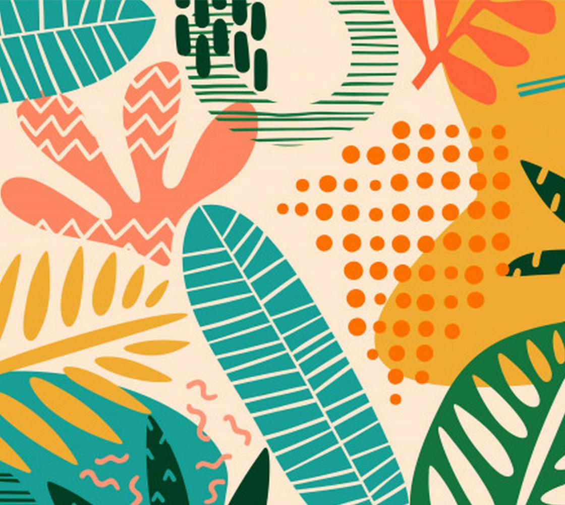 Aperçu de Abstract Tropical Floral