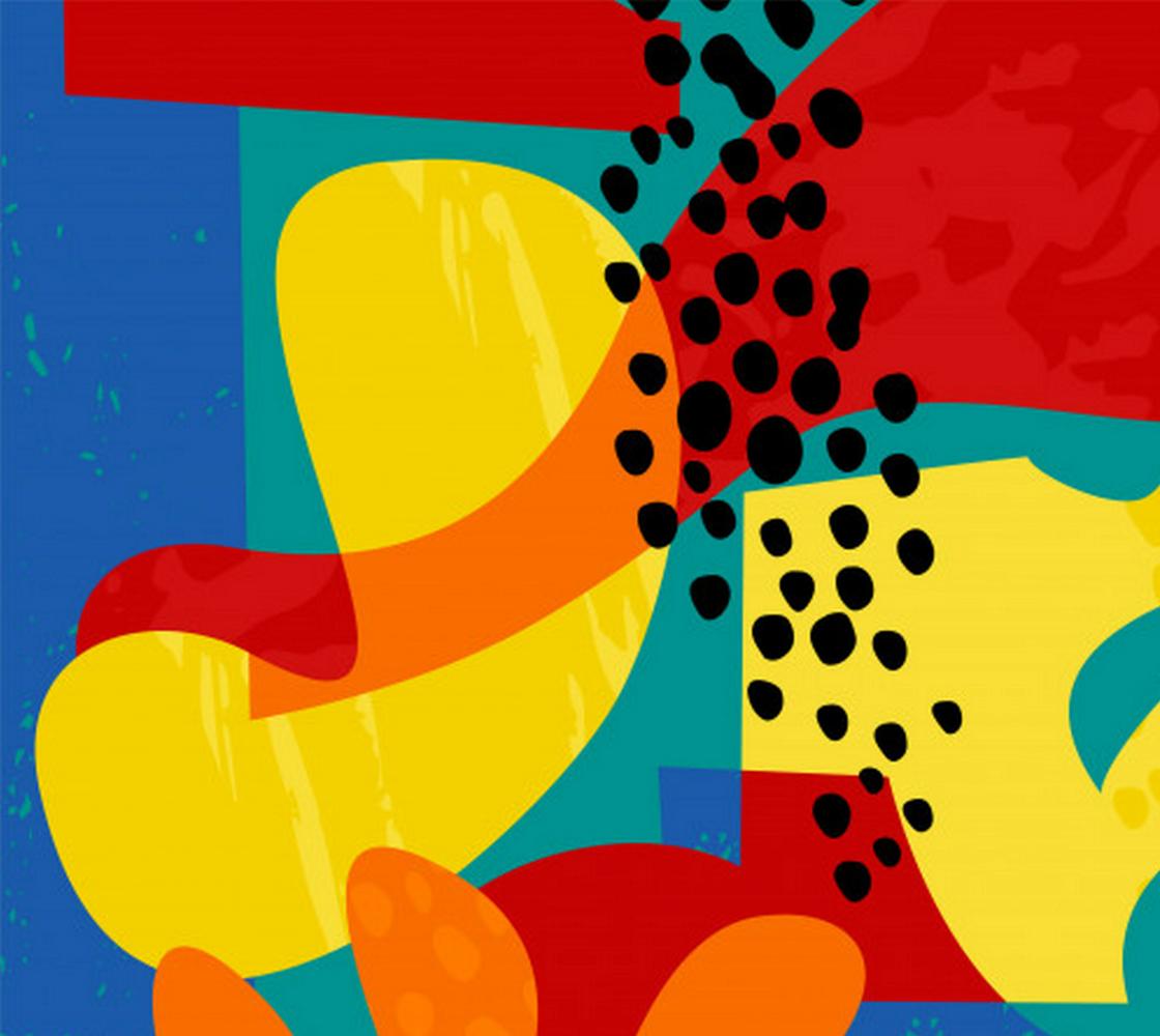 Aperçu de Cool, Colorful and Unique Abstract Art