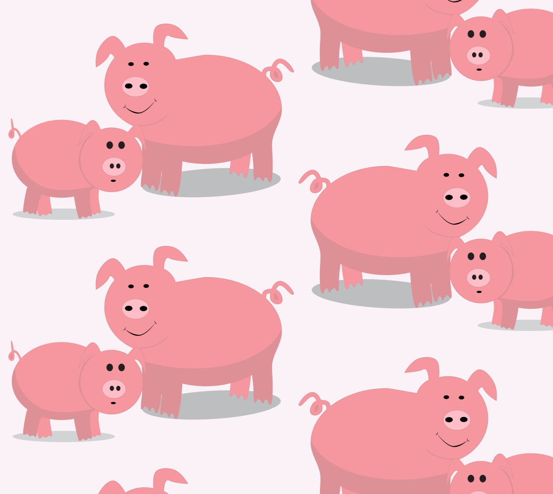 Aperçu de Cute Pigs