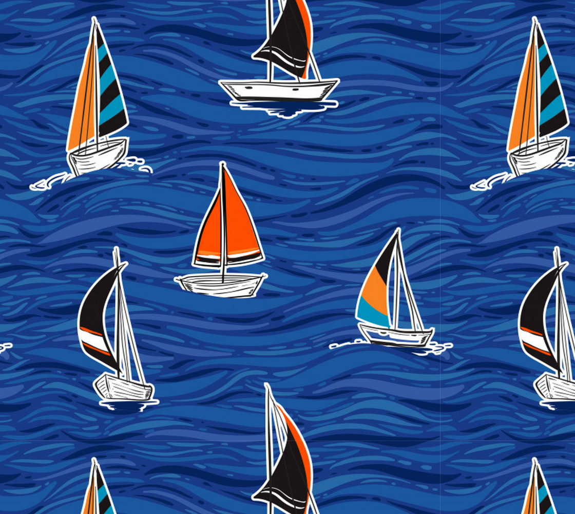 Aperçu de Sailboat Fabric