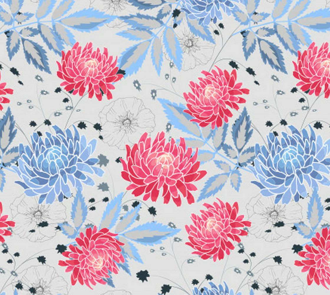 Aperçu de Pretty Pink and Blue Pastel Floral