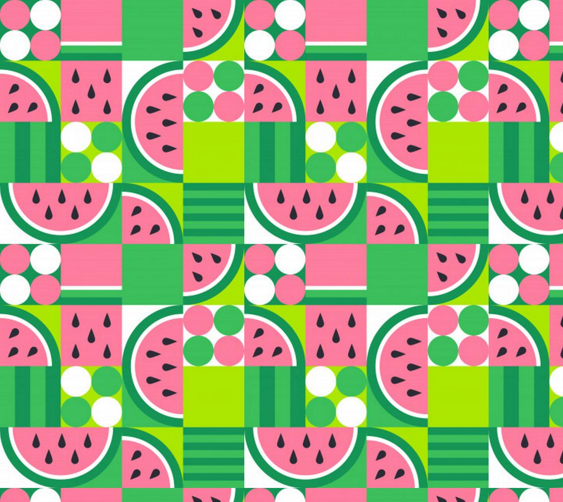 Aperçu de Abstract Watermelon