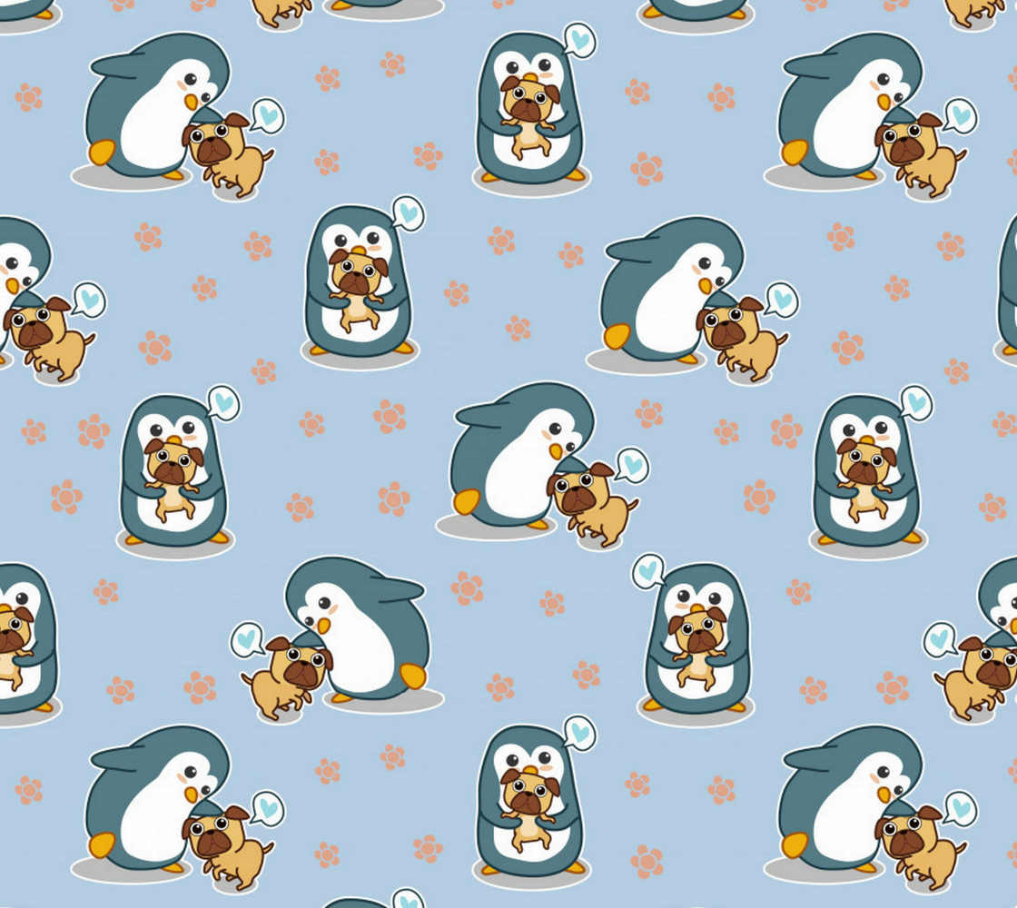 Aperçu de Penguins Holding Pugs