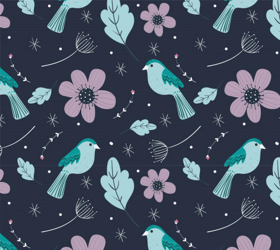 Aperçu de Birds and Flowers