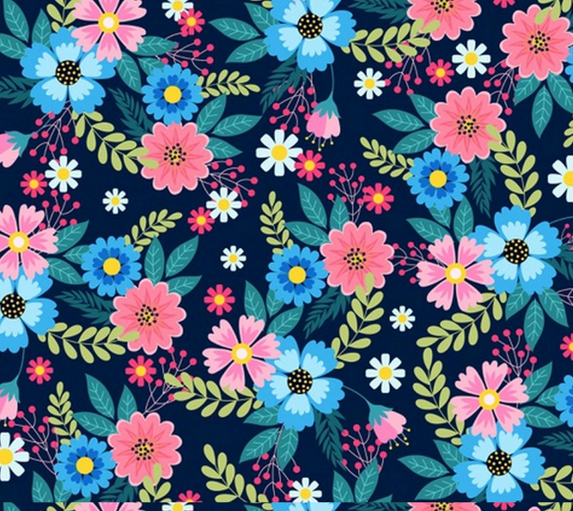 Aperçu de Ditsy Flower Fabric