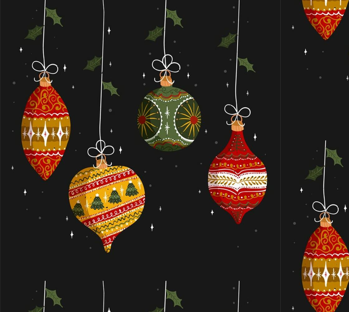 Aperçu de Gorgeous Vintage Style Christmas ornaments