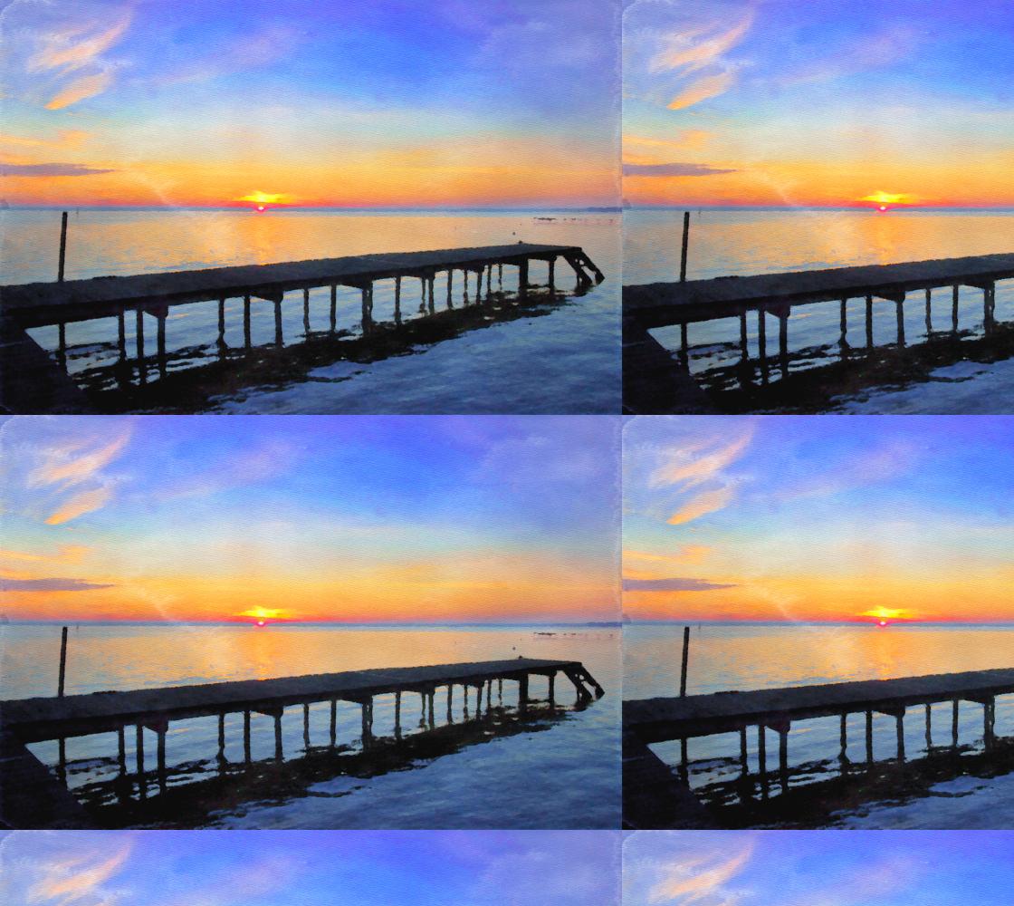 Aperçu de Summer Dock Sunrise