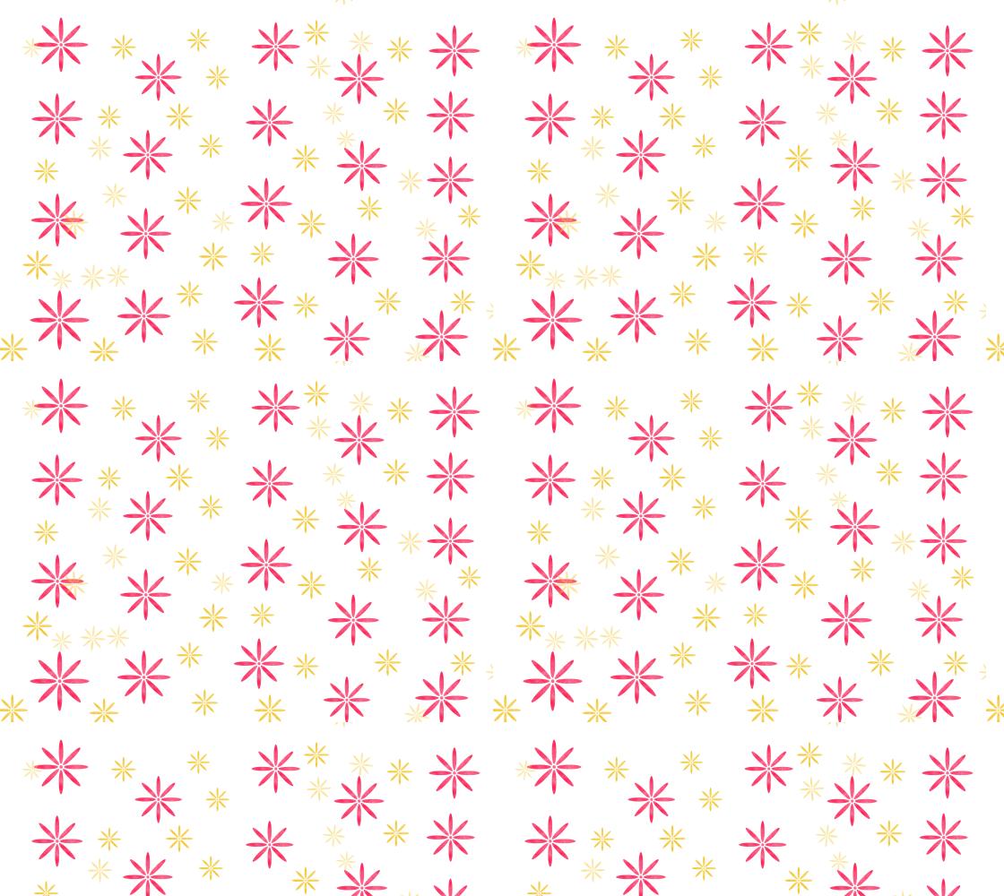 Aperçu de Pink and Gold Snowflake
