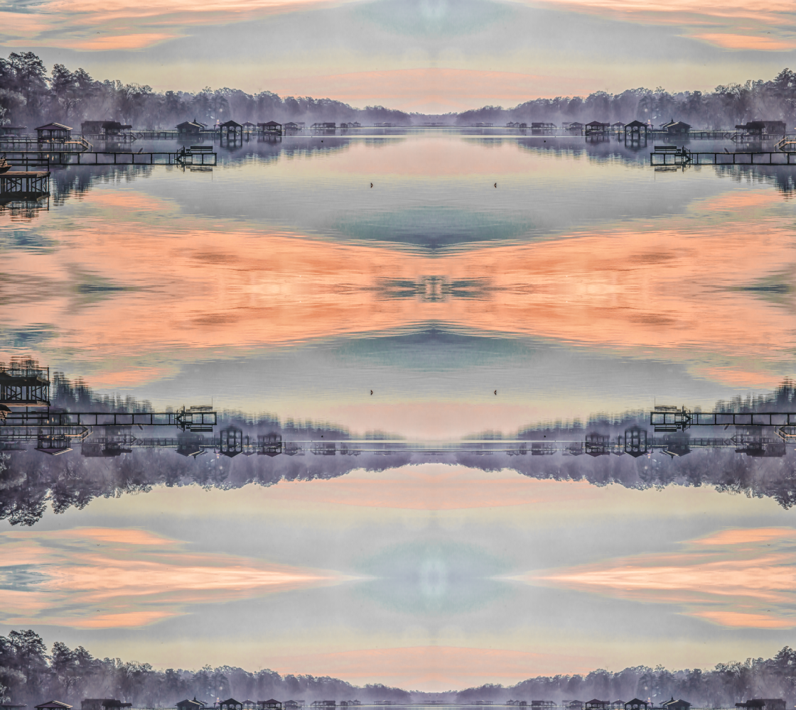 Aperçu de Sunrise over lake