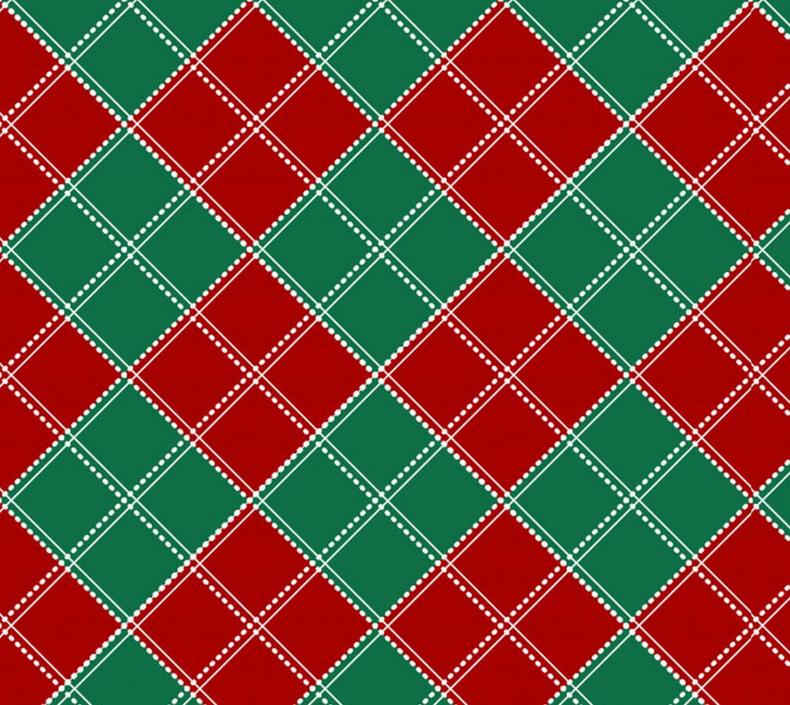Aperçu de Holiday Plaid Fabric