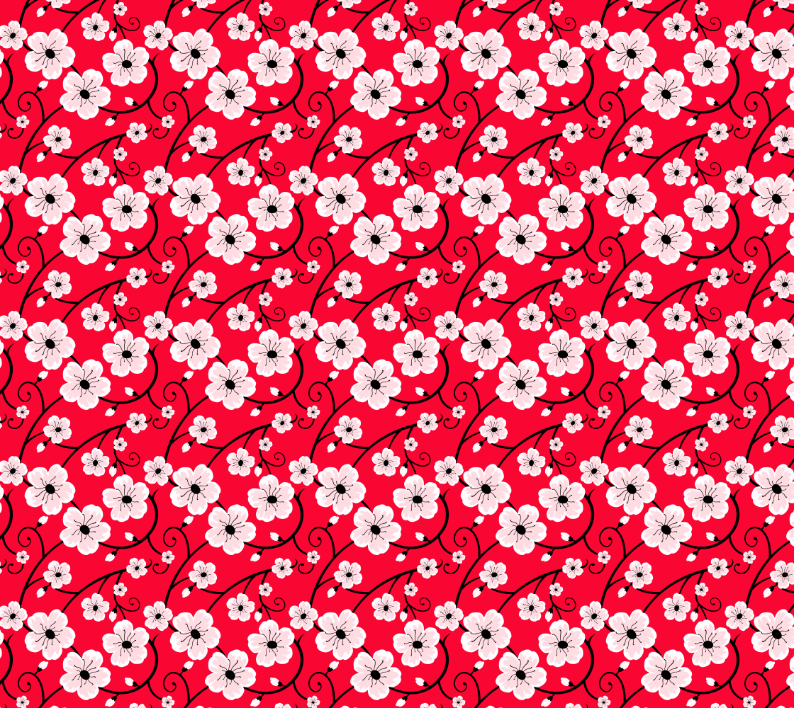 Floral Pattern #027 aperçu