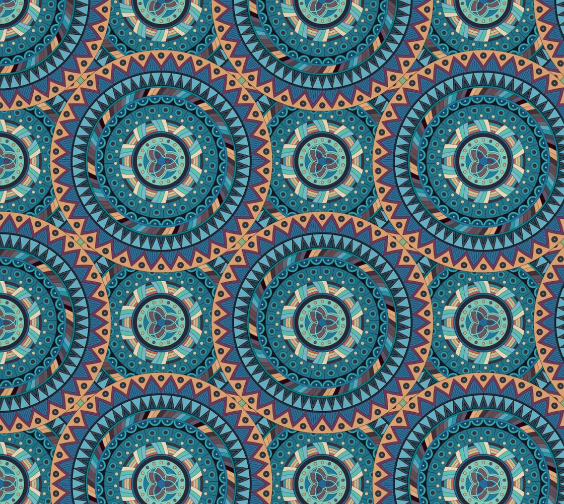 Aperçu de Gorgeous Vintage Abstract Mandala - Ethnic Abstract