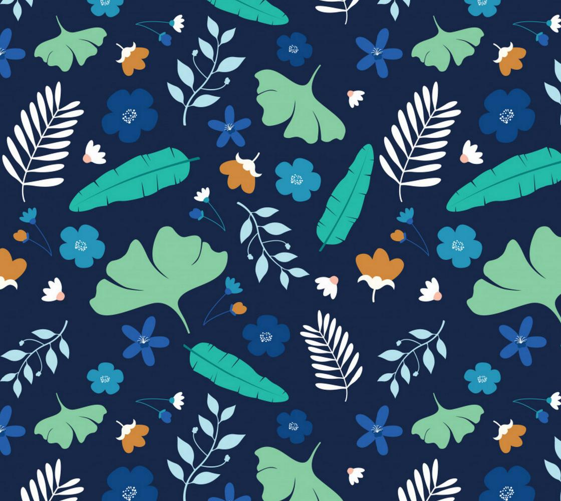 Aperçu de Unique Floral Pattern